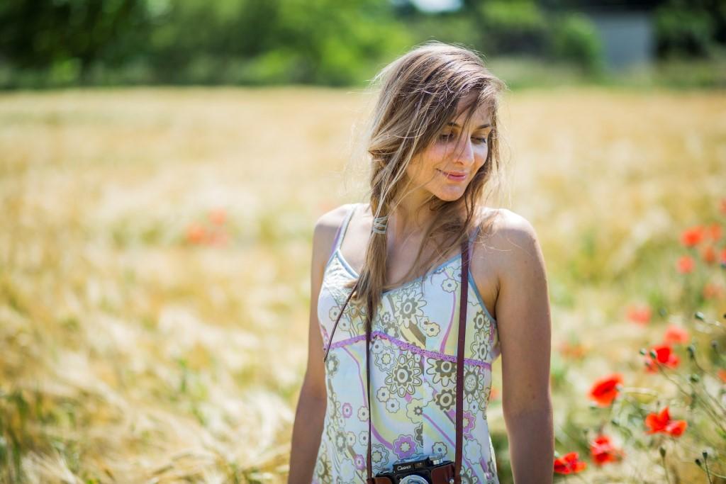 фотосесия в жито